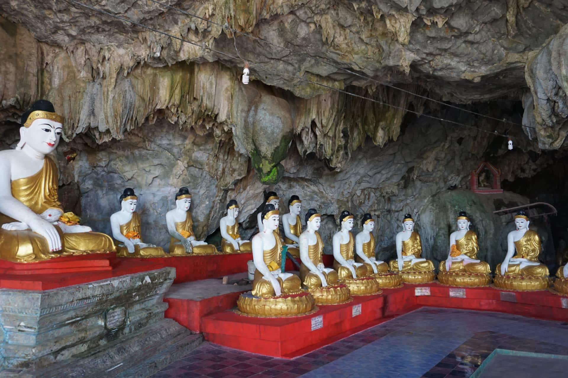 Bayin Nyi Cave- Hpa-An Höhle