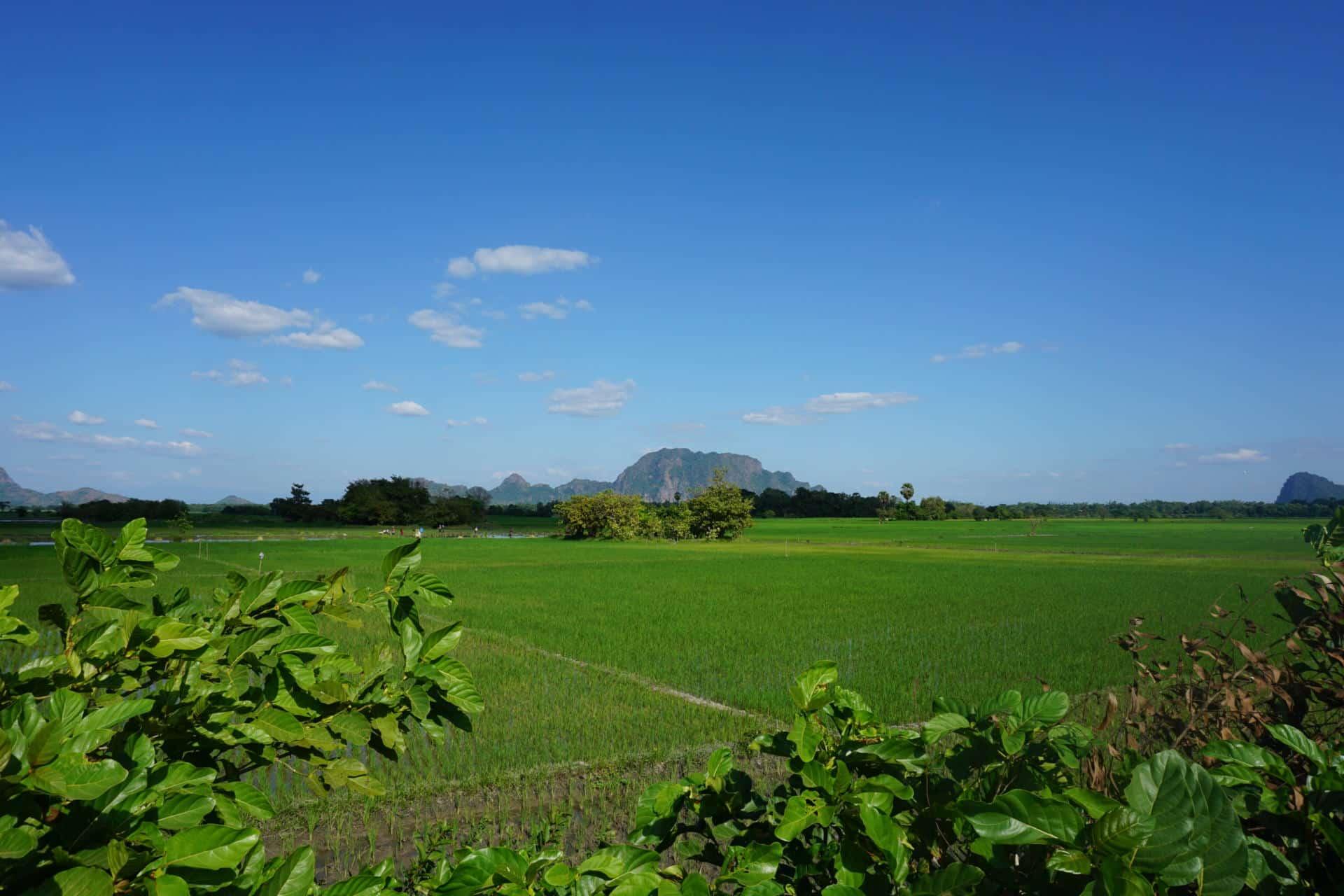 Hpa-An Myanmar Landschaft