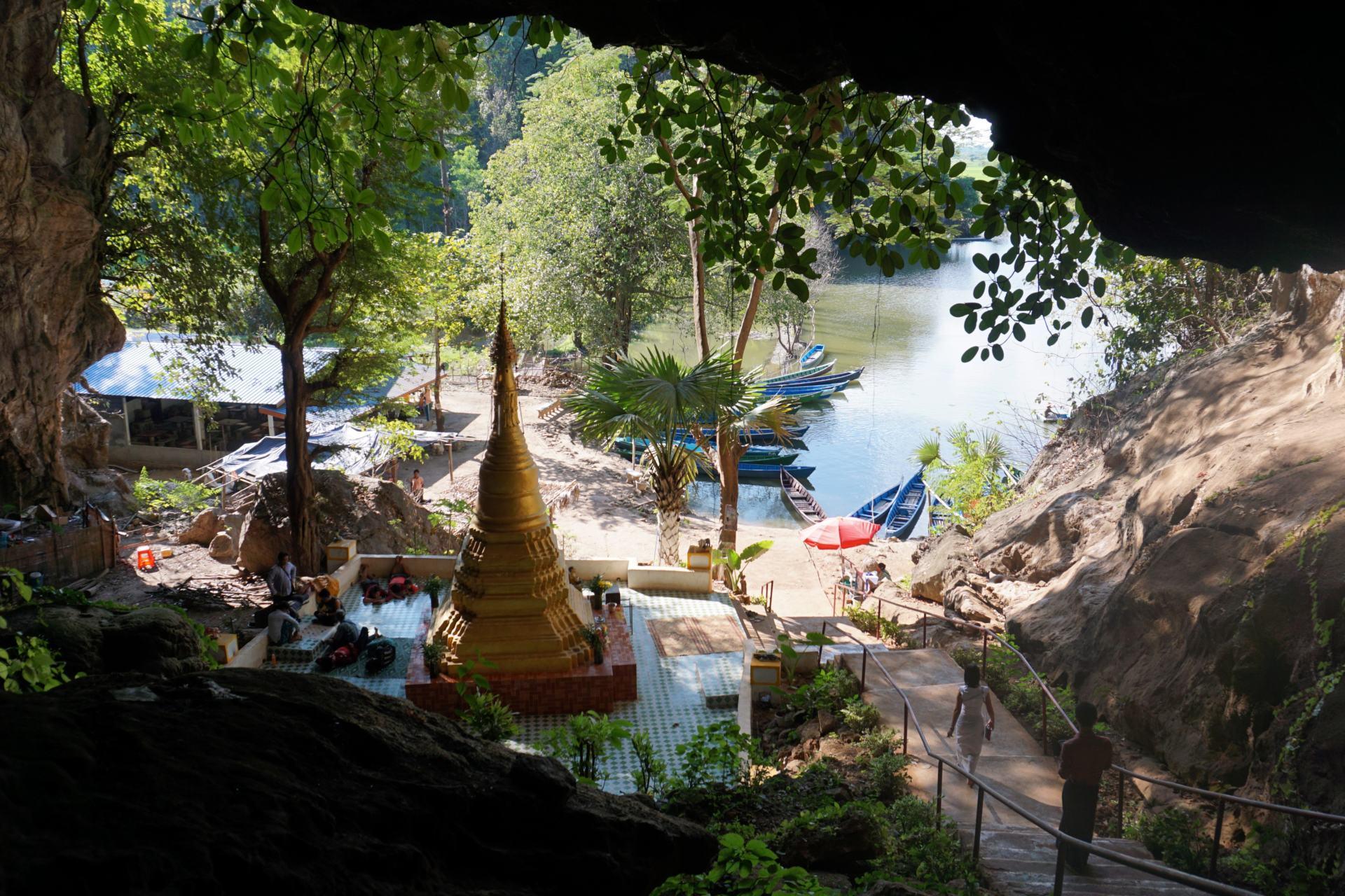 Saddan Höhle-Hpa an-Myanmar