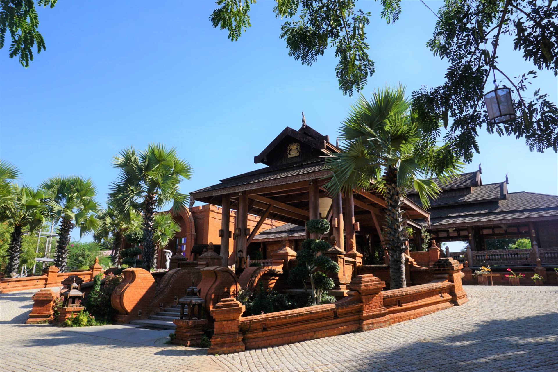 Heritage Bagan Hotel Eingang