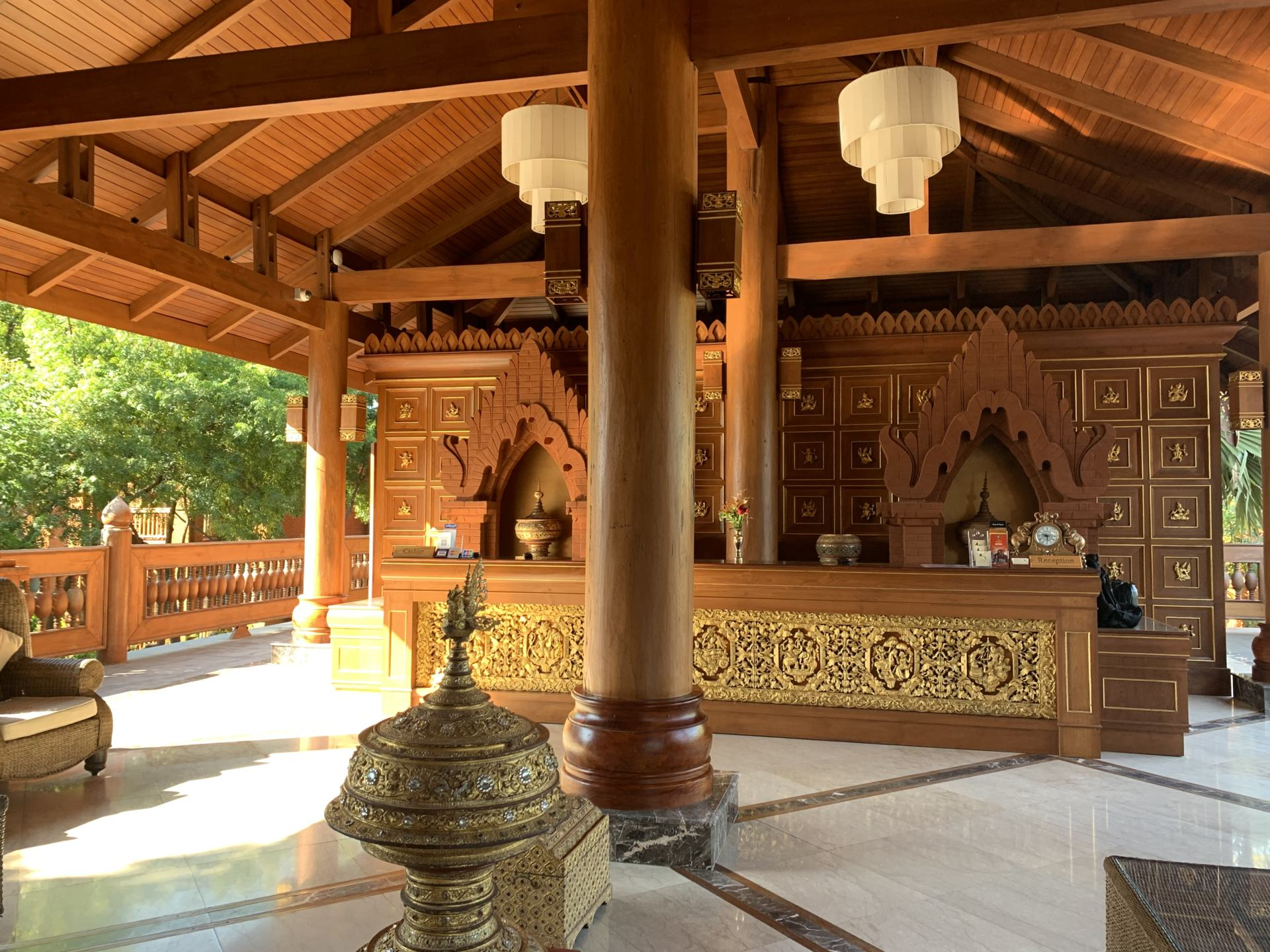 Hotel Bagan Lobby