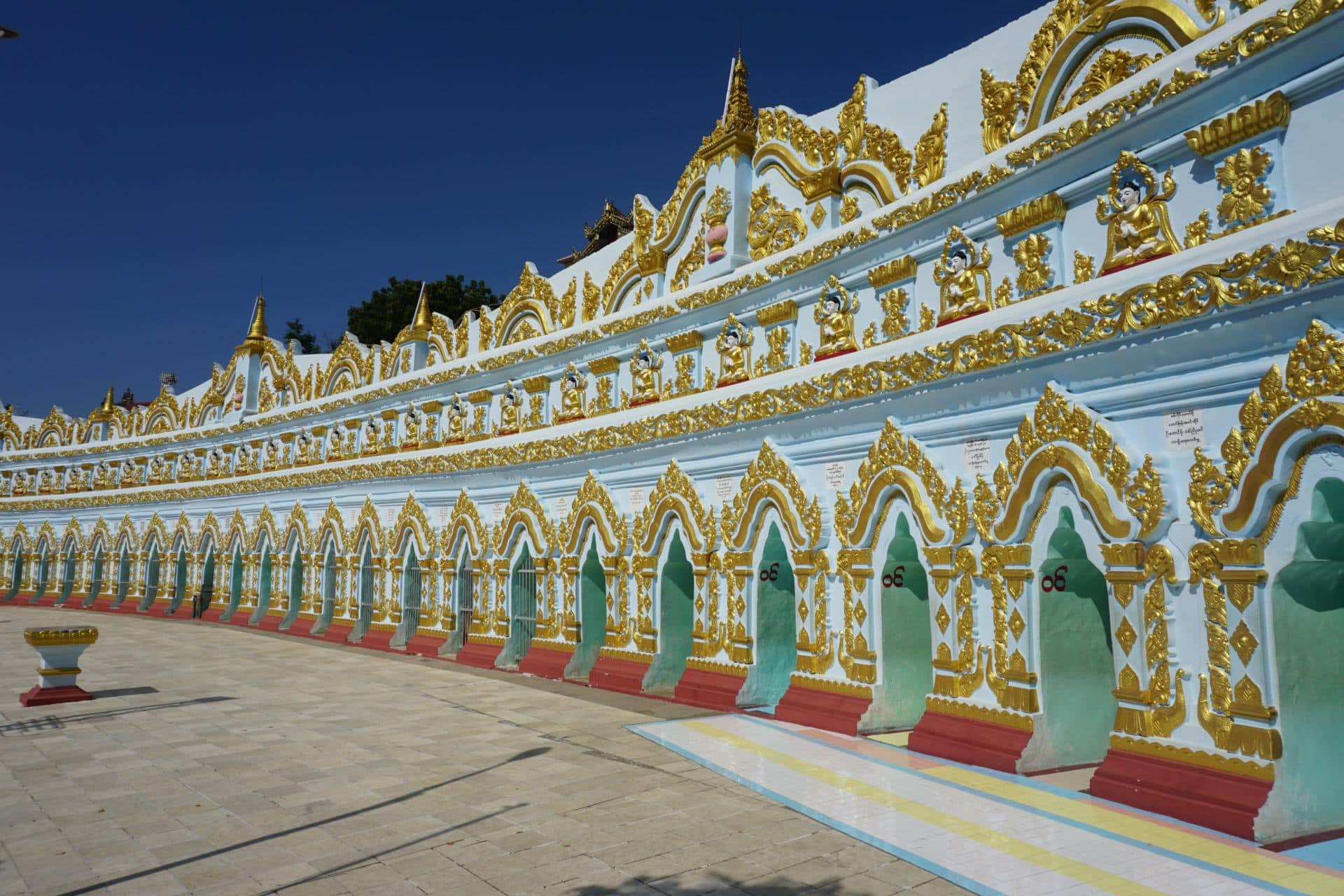 U Min Thonze-Pagode Mandalay