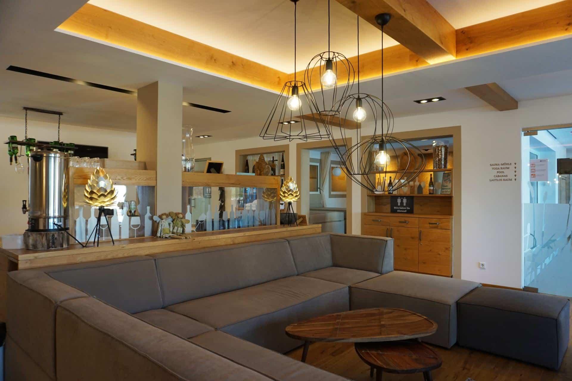 Herz & Rebe Spa in dem Wellnesshotel Jordans Untermühle