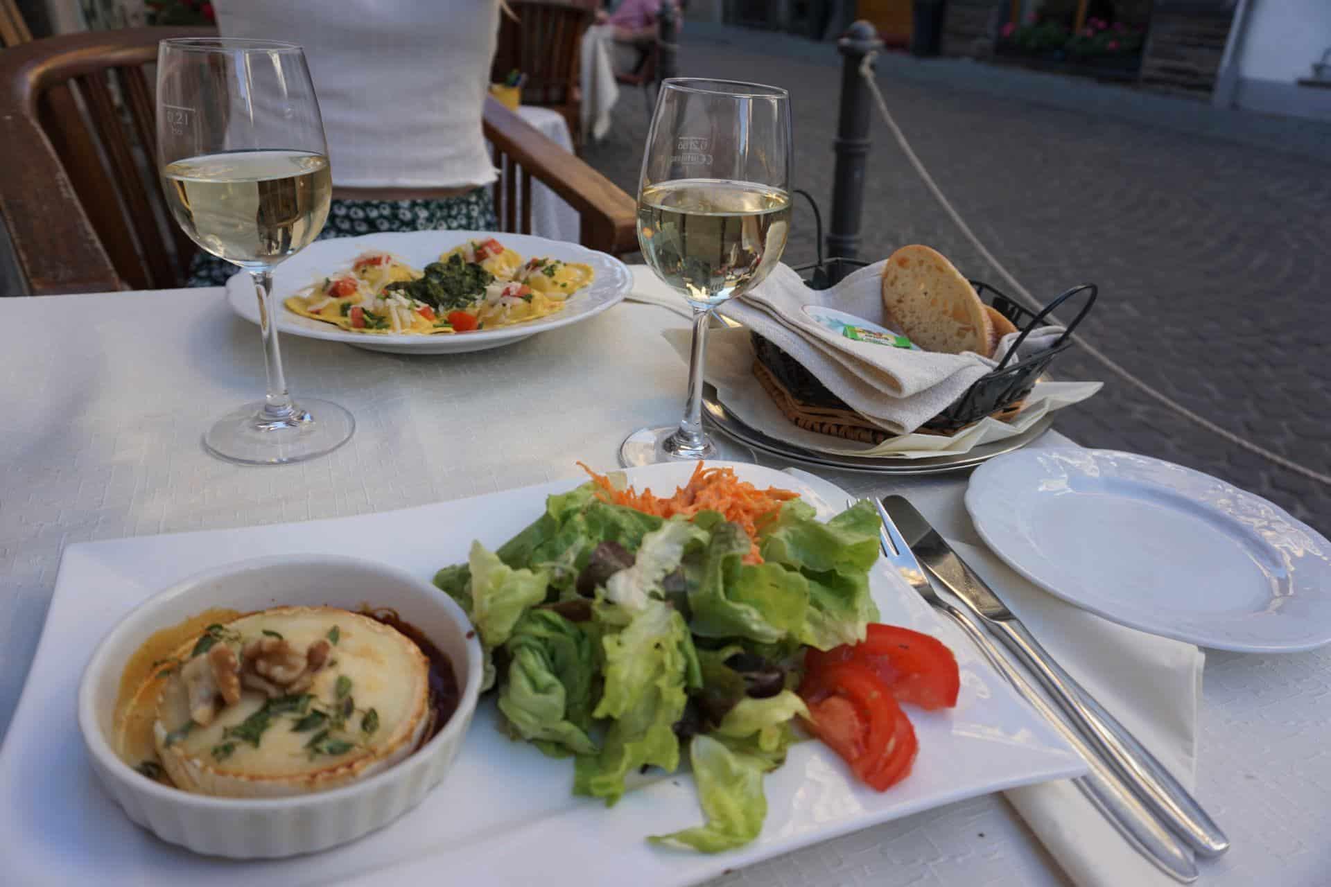 Abendessen im Restaurant Altes Haus in Bacharach