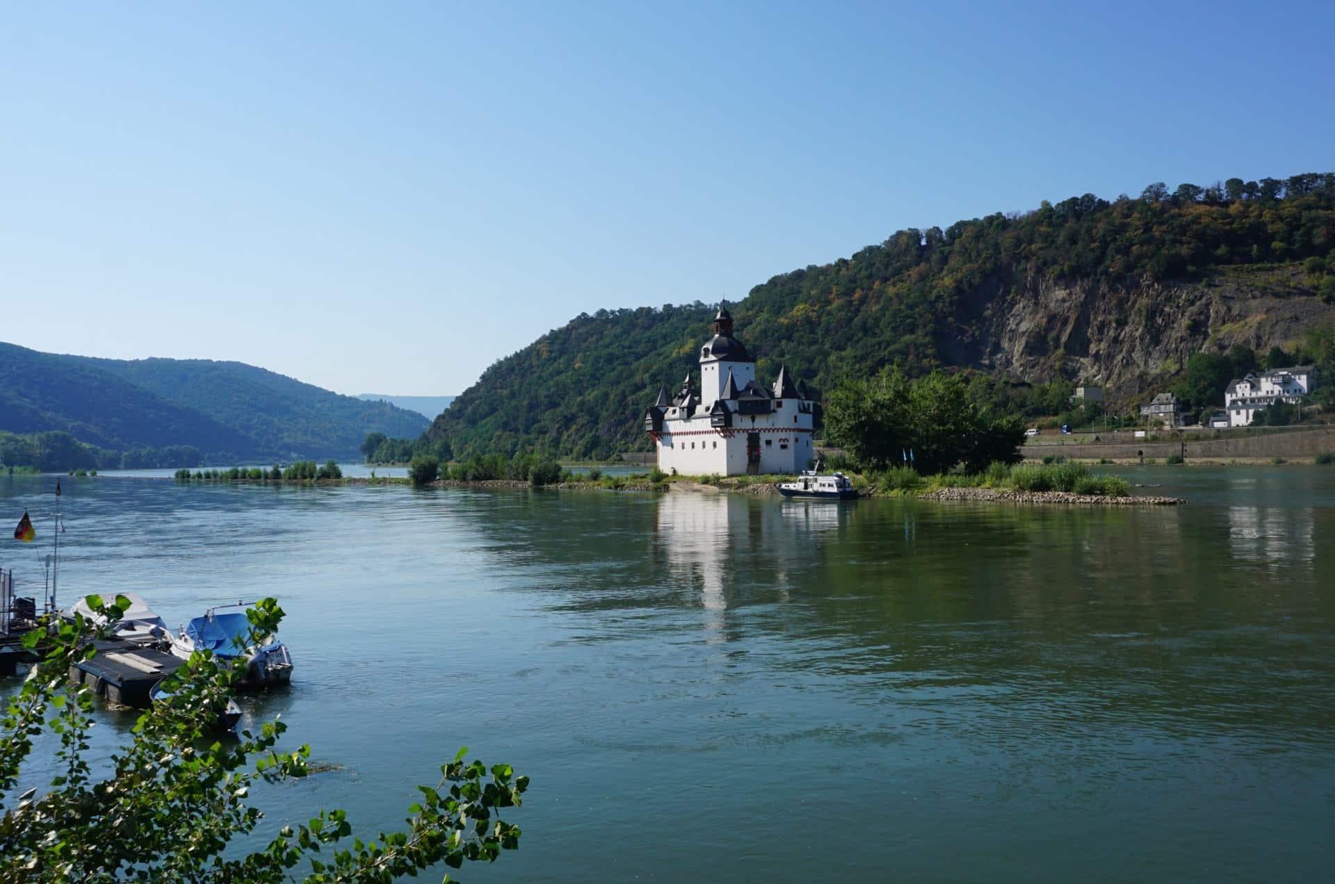 Burg Pfalzgrafenstein in Kaub Burgen am Rhein