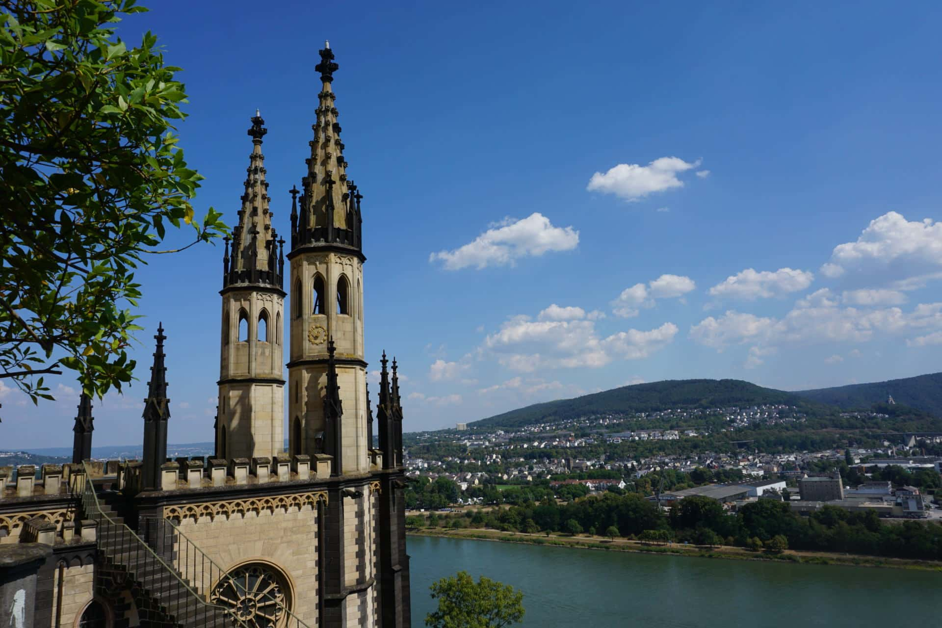 Schloss Stolzenfels bei Koblenz